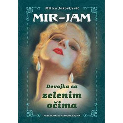 knjiga devojka sa zelenim očima prodaja knjižara miba books