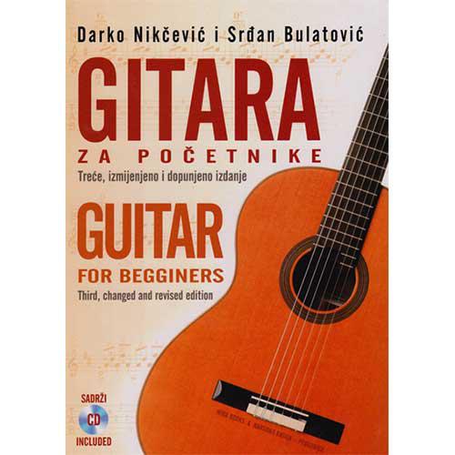 knjiga gitara za početnike + CD prodaja knjižara miba books